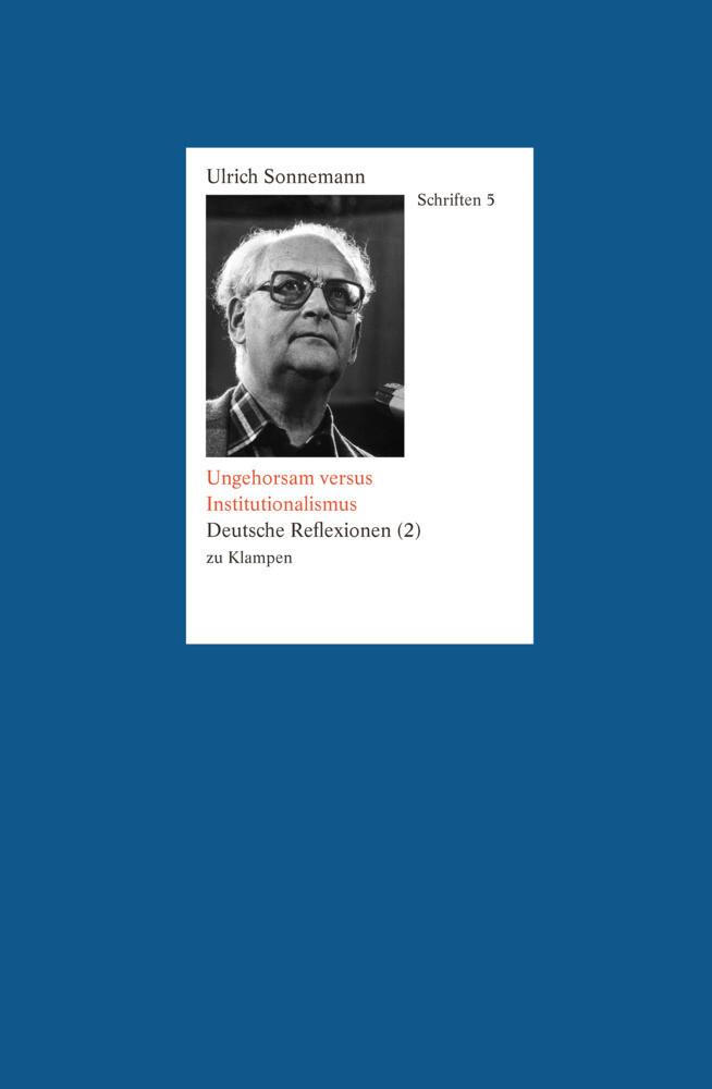 Ungehorsam versus Institutionalismus als Buch