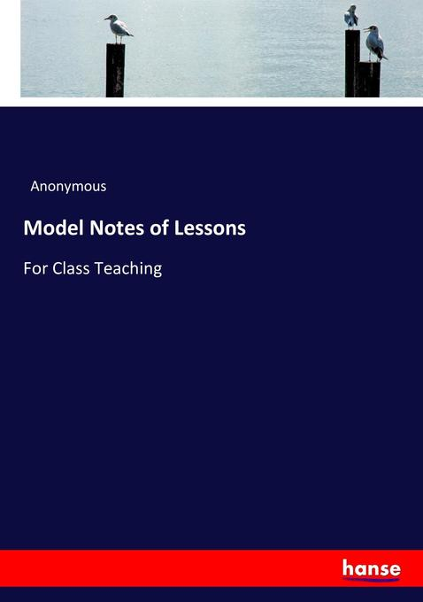 Model Notes of Lessons als Buch von Anonymous