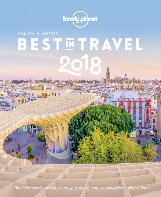 Lonely Planet's Best in Travel 2018 als Buch