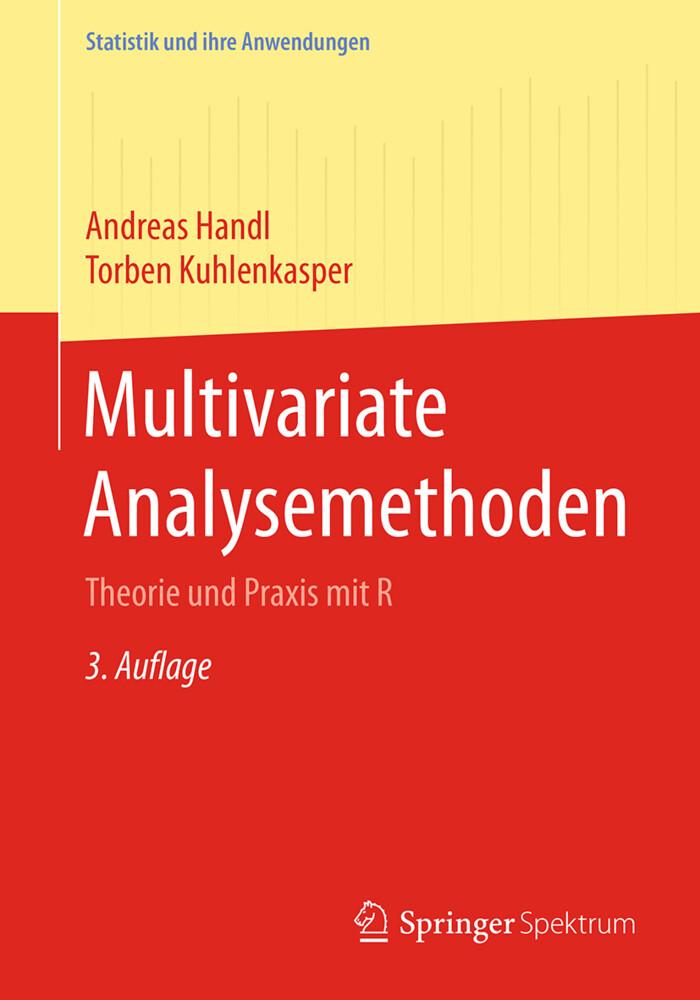 Multivariate Analysemethoden als Buch