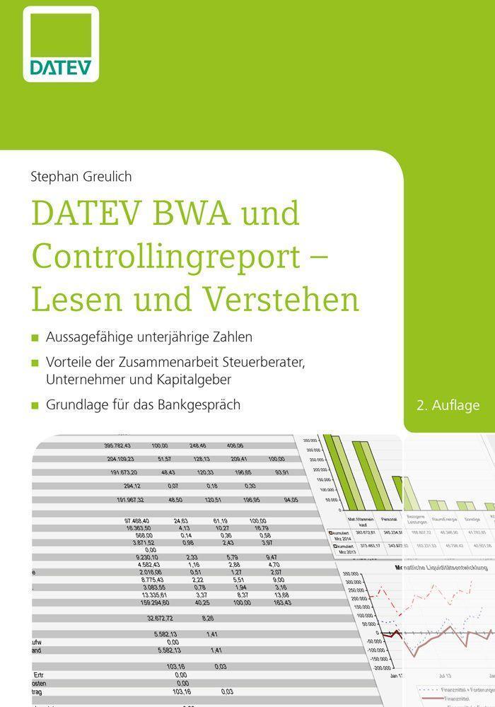 DATEV BWA und Controllingreport - Lesen und Verstehen als eBook