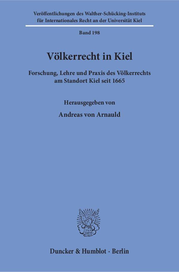 Völkerrecht in Kiel als Buch von