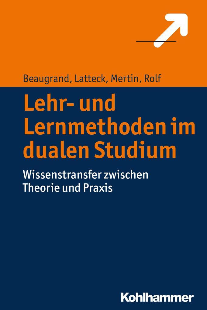 Lehr- und Lernmethoden im dualen Studium als eB...