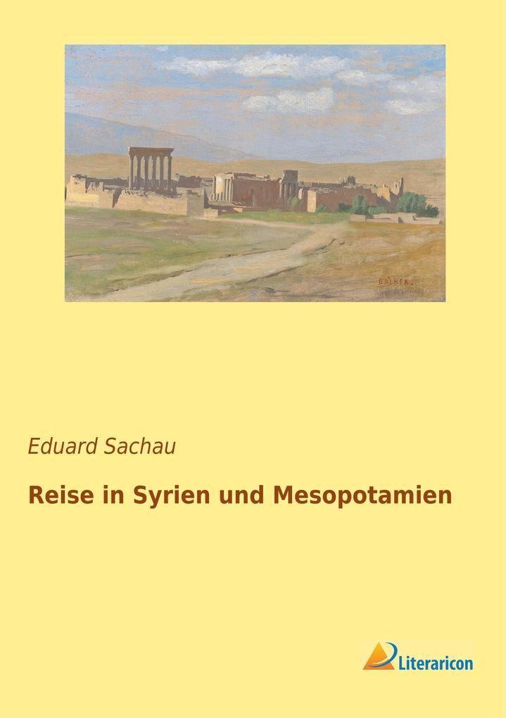 Reise in Syrien und Mesopotamien als Buch von