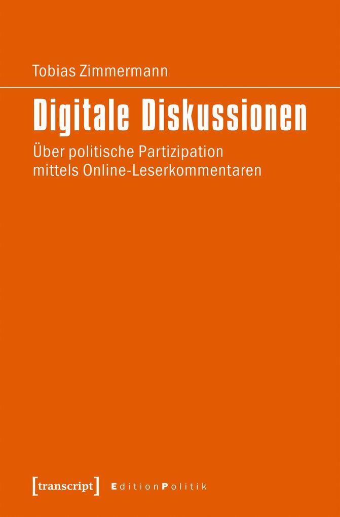 Digitale Diskussionen als eBook Download von To...