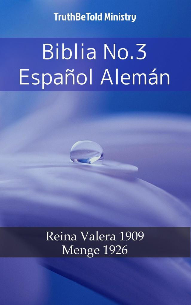Biblia No.3 Espanol Alemán