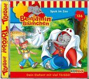 Benjamin Blümchen 136. Spuk im Zoo. CD