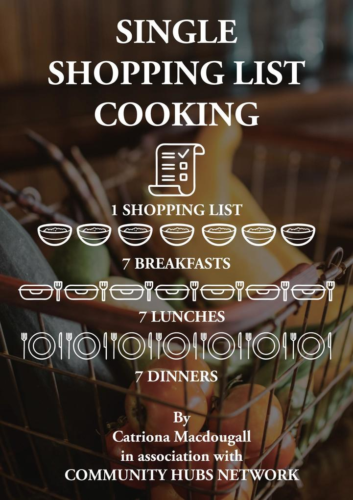Single Shopping List Cooking als eBook Download...