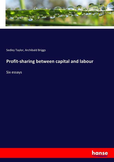 Profit-sharing between capital and labour als B...