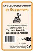 Das DaZ-Wörter-Domino: Im Supermarkt