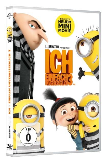 Ich - Einfach unverbesserlich 3 als DVD