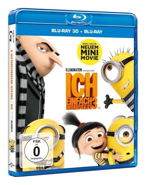 Ich - Einfach unverbesserlich 3 (3D) - Blu-ray als DVD