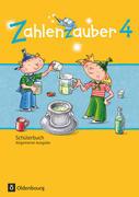 Zahlenzauber 4. Schuljahr - Allgemeine Ausgabe - Schülerbuch mit Kartonbeilagen