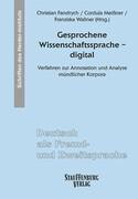 Gesprochene Wissenschaftssprache - digital