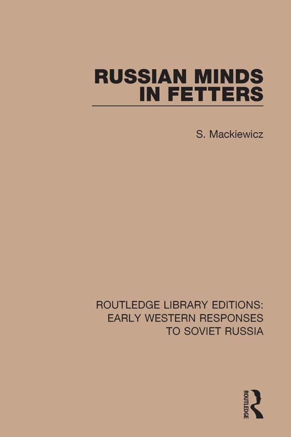 Russian Minds in Fetters als eBook Download von...