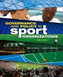 Governance and Policy in Sport Organizations al...