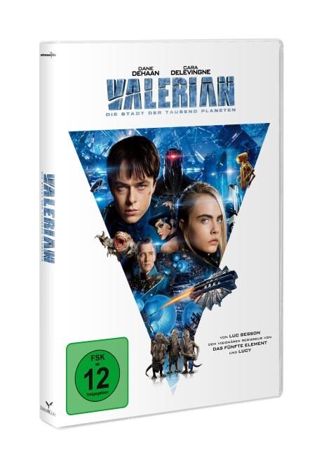 Valerian - Die Stadt der tausend Planeten als DVD