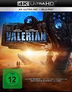 Valerian - Die Stadt der tausend Planeten UHD Blu-ray