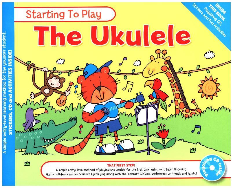 MUSIC FOR KIDS: Starting To Play Ukulele (Book ...