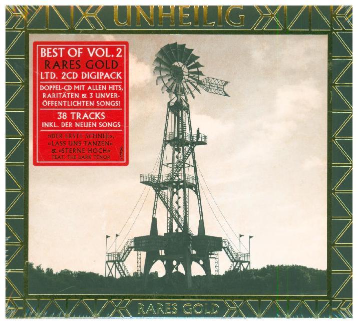 Best of Vol. 2 - Rares Gold (Limited Digipak)
