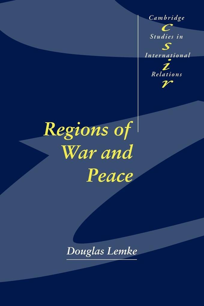 Regions of War and Peace als Buch (gebunden)