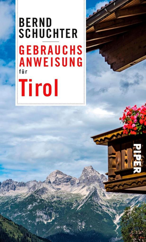 Gebrauchsanweisung für Tirol als eBook Download...