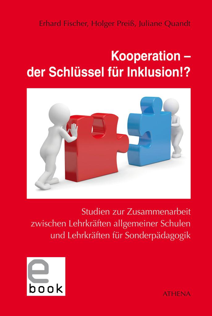 Kooperation - der Schlüssel für Inklusion!? als...