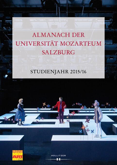 Almanach der Universität Mozarteum Salzburg als...