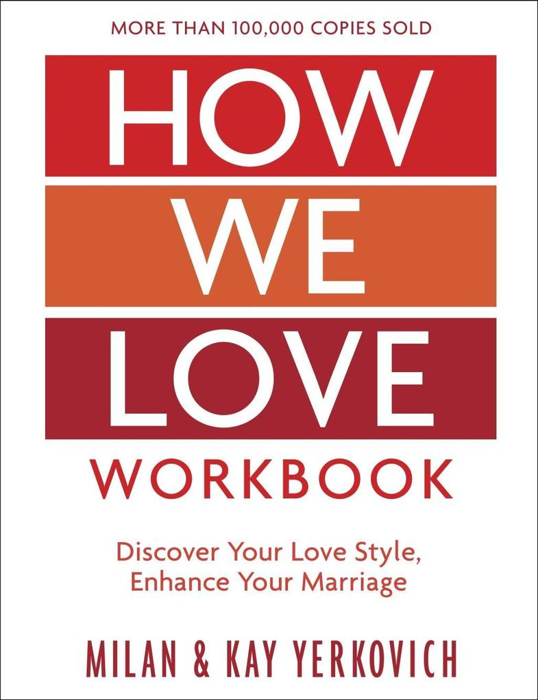 How We Love Workbook, Expanded Edition als eBook epub
