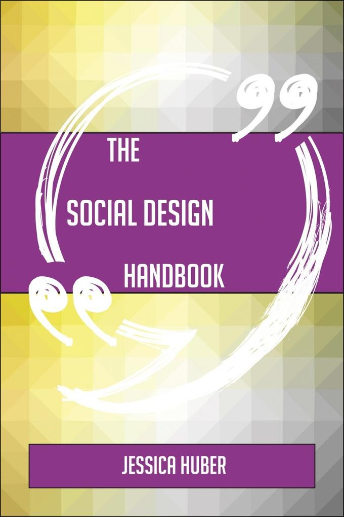 The Social design Handbook - Everything You Nee...