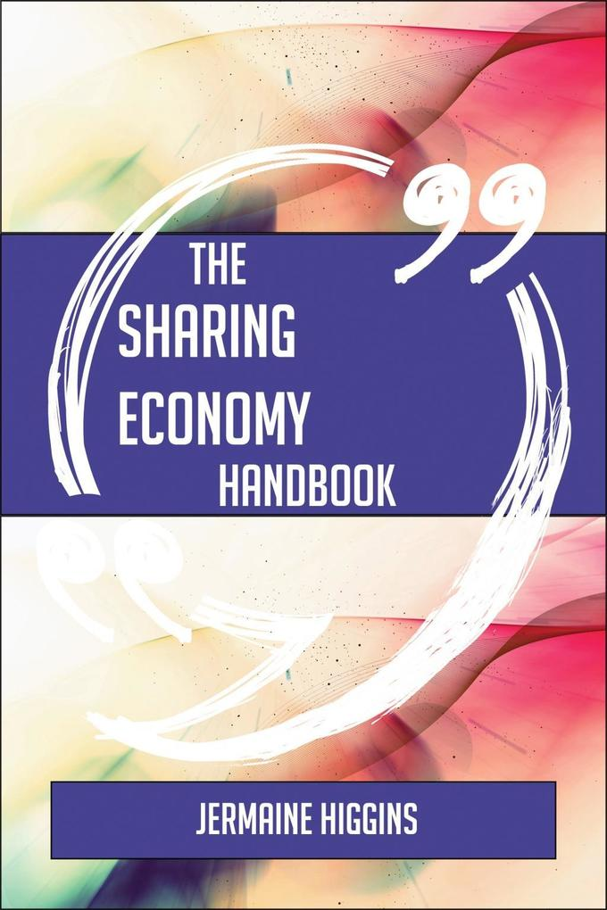 The Sharing Economy Handbook - Everything You N...