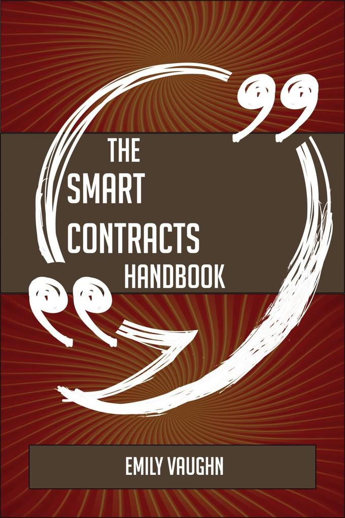 The Smart Contracts Handbook - Everything You N...