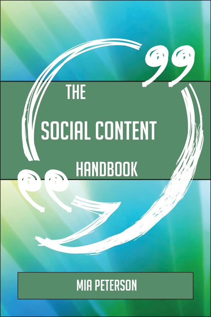 The Social Content Handbook - Everything You Ne...