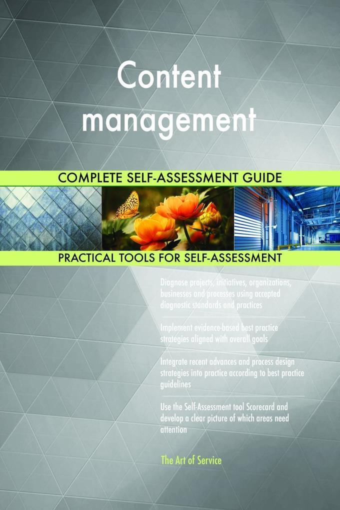 Content management Complete Self-Assessment Gui...