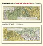 Historische Karte: Die große Hunsrückkarte 1735 (Plano)