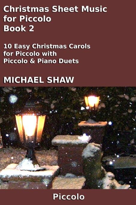 Christmas Sheet Music for Piccolo: Book 2 als e...