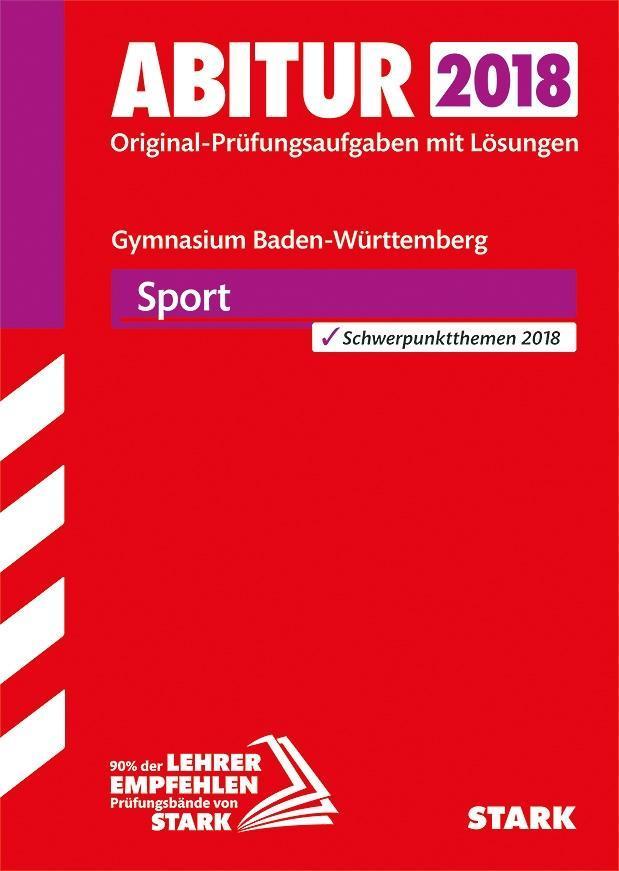 Abiturprüfung Baden-Württemberg 2018 - Sport al...