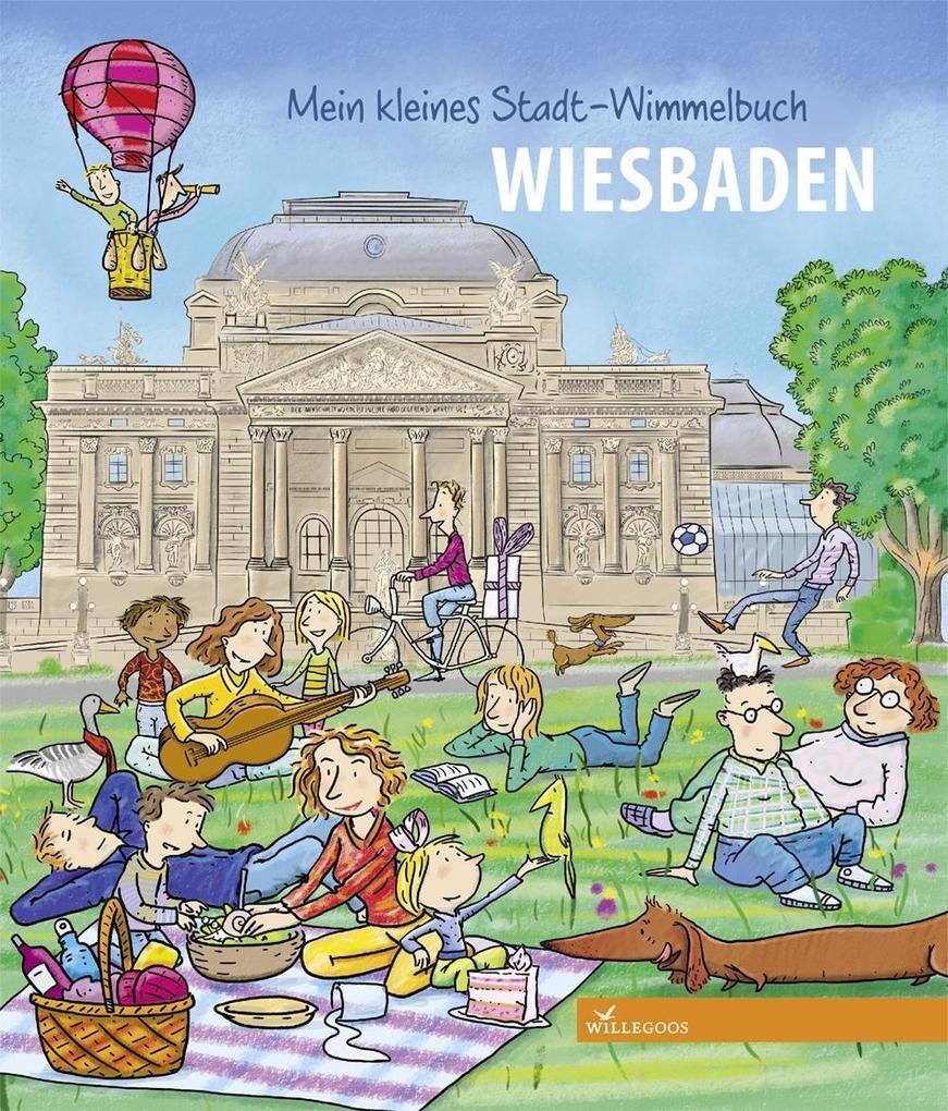 Mein kleines Stadt-Wimmelbuch Wiesbaden als Buch