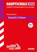 Abschlussprüfung Hauptschule Niedersachsen 2018 - Deutsch 9. Klasse, mit CD
