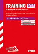 Training Mittlerer Schulabschluss 2018 Hauptschule Typ B / Gesamtschule EK / Sekundarschule NRW - Mathematik