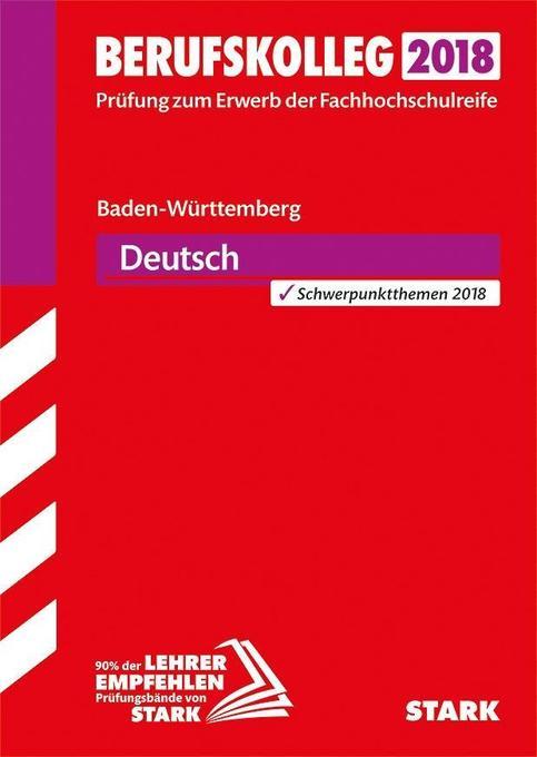 Berufskolleg Baden-Württemberg 2018 Deutsch als...