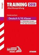 Training Abschlussprüfung Hauptschule Niedersachsen 2018 - Deutsch 9./10. Klasse Lösungen