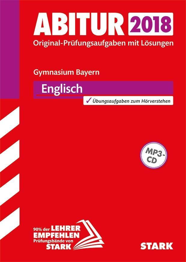 Abiturprüfung Bayern 2018 - Englisch als Buch