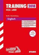 Training Mittlerer Schulabschluss Berlin/Brandenburg 2018 - Englisch mit MP3-CD