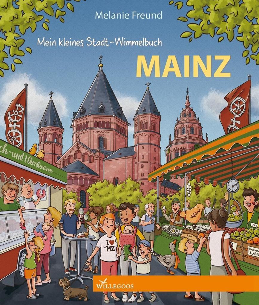 Mein kleines Stadt-Wimmelbuch Mainz als Buch