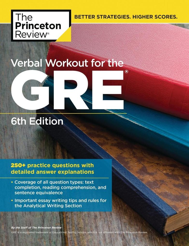 Verbal Workout for the GRE, 6th Edition als eBo...