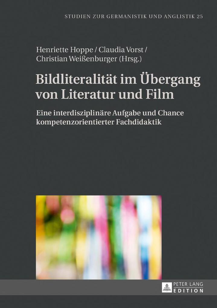 Bildliteralität im Übergang von Literatur und Film als Buch (gebunden)