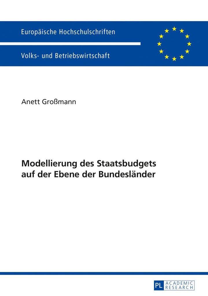 Modellierung des Staatsbudgets auf der Ebene de...