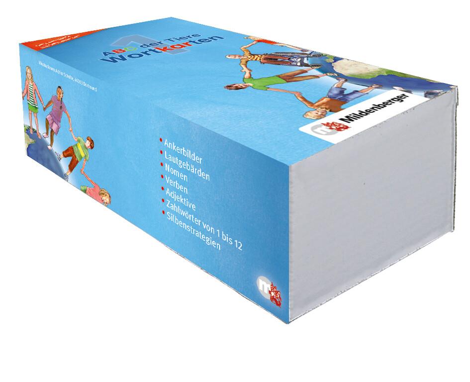 ABC der Tiere 1 - Wortkarten in 5-Fächer-Lernbox - Neubearbeitung als Buch