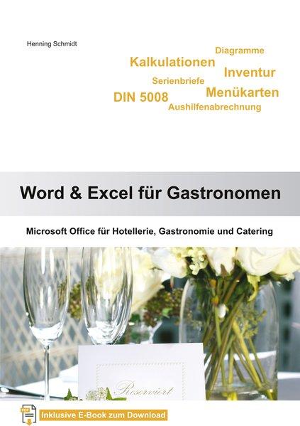 Word & Excel für Gastronomen: Microsoft Office ...